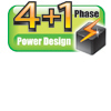 4+1 phase power